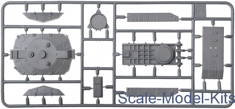 A/&A Models 7215 S-125 Neva Soviet surface-to-air missile system Plastic kit 1//72