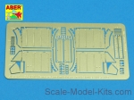 ABR35-A31 Front fenders for Panther Ausf.A/D, Tamiya, Italeri kit