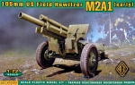 ACE72530 105mm US Field Howitzer M2A1 (early)