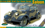 ACE72550 Super Snipe Saloon British Staff Car WW2