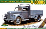 ACE72576 V-3000S 3t German cargo truck (early flatbed)