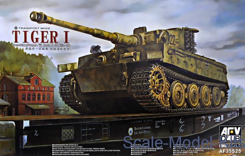 AFV-Club - Tiger I Panzerkampfwagen Ausf  E Sd  Kfz 181