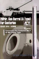 AF-AG35018 Gun barrel 20Pdr. (A Type) for Centurion Mk.III-V