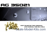 AF-AG35021 Rivet for british tank Churchill Mk. III - Mk. VI