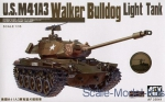 "Tank: M41A3 ""Walker Bulldog"", light tank, AFV-Club, Scale 1:35"