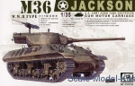 Artillery: M36 Destroyer Jackson, AFV-Club, Scale 1:35