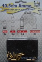 AF35074 10.5cm Ammo for FH18M Sd. Kfz.11