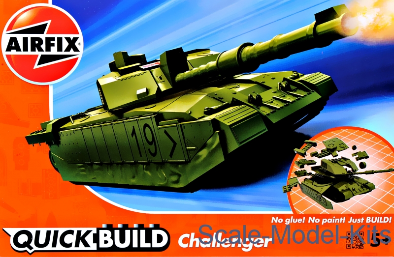 Challenger Tank (Lego assembly)