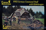 CMH095 WWII German command staff with Kubelwagen