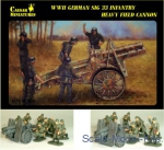 CMM7202 WWII German Infantry Gun SIG-33 with Crew