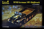CMM7210 WWII German SWS Halftrack