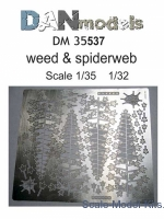 DAN35537 Photo-etched set: Weed and spiderweb