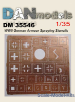 DAN35546 German Armour Spraying Stencils