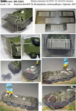 DAN35601 Metal protection for BTR-70/80, ATO East Ukraine 2014