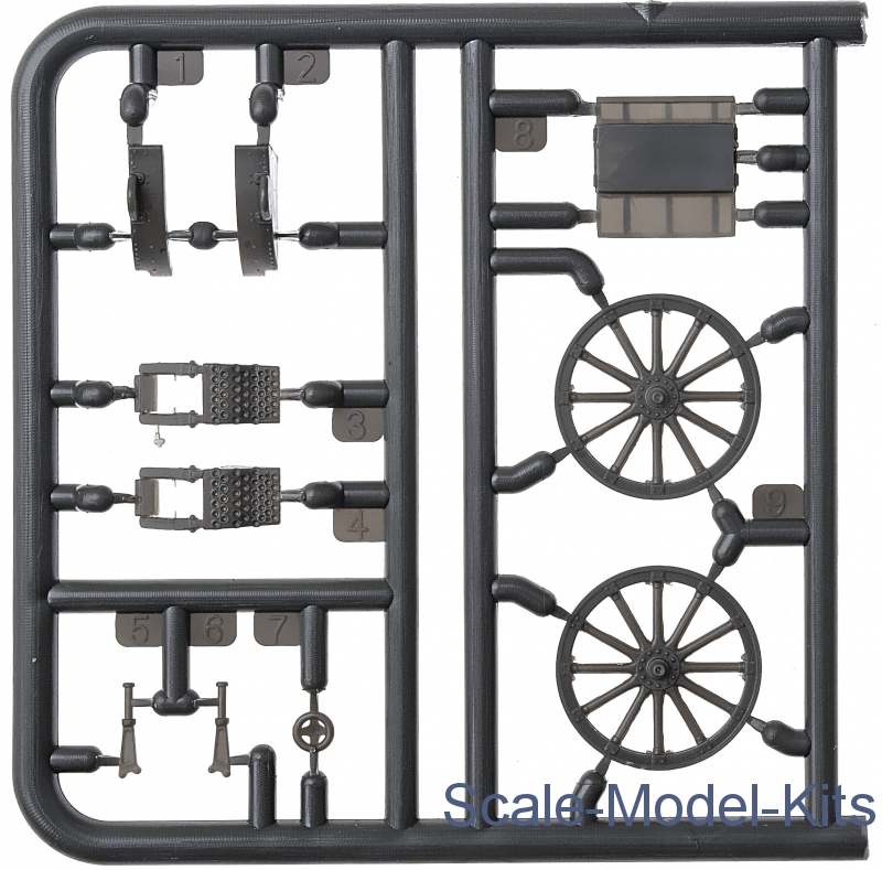 1//72 First to fight PL1939-052 100mm Polish wz 14//19 Howitzer Early Version