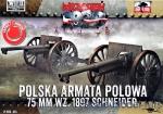 FTF033 Polish Field Canone 75mm wz. 1897 Schneider, 2pcs (Snap fit)