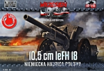 FTF037 10,5 cm leFH 18 German light howitzer