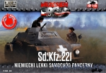 FTF048 Sd.Kfz.221 German Light Armored Car (Snap fit)