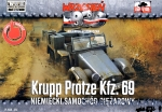 FTF051 Krupp Protze Kfz.69 German truck (Snap fit)
