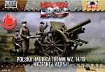 FTF052 Polish howitzer 100mm wz. 14/19 (Snap fit)
