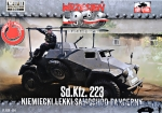 FTF054 Sd.Kfz. 223 light armored car (Snap fit)