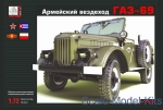 GR72505 GAZ-69 Soviet cross-country vehicle