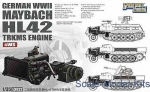 GWH-L3522 WWII German Maybach HL42 TRKMS Engine for sWS