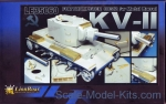 GWH-LE35060 Russian KV-2 / w Matel Barrel for Trumpeter