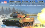 Tank: Swedish Strv.122  Tank, Hobby Boss, Scale 1:35