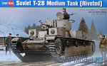 HB83853 Soviet T-28 Medium Tank (Riveted)