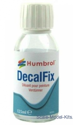 Glues: Decalfix 125 ml, Humbrol