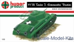 HNR72010 43M Turan I commander's tank (resin kit + pe)