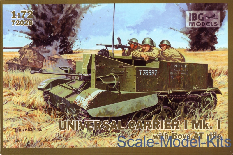 Universal Carrier Mk.I with Boys AT gun