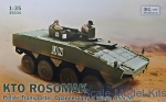 Troop-carrier armor: KTO Rosomak with OSS-M turret, IBG Models, Scale 1:35