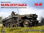 ICM35101 German armored personnel carrier Sd.Kfz.251 / 1 Ausf.A, WW II