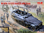 ICM35104 Sd.Kfz.251/6 Ausf.A (with crew)