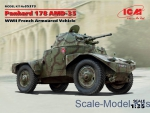 ICM35373 Panhard 178 AMD-35, WWII French armoured vehicle