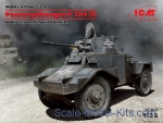 ICM35374 Panzerspahwagen P 204 (f), WWII German Armoured Vehicle