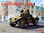 ICM35377 Panzerspähwagen P 204 (f) with CDM turret, WWII German Armoured Vehicle