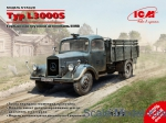 Army Car / Truck: WWII German Truck Typ L3000S, ICM, Scale 1:35