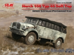ICM35506 Horch 108 Typ 40 Soft Top, WWII German Personnel Car