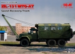 Civil trucks: ZiL-131 MTO-AT, Soviet Recovery Truck, ICM, Scale 1:35