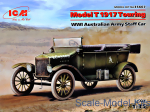 ICM35667 Model T 1917 Touring, WWI Australian Army Staff Car