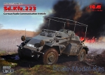 ICM48192 German armored car Sd.Kfz.223, WWII