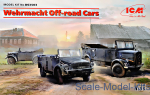 ICMDS3503 Wehrmacht Off-Road Cars (Kfz.1, Horch 108 Typ 40, L1500A)