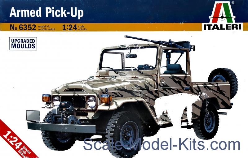 Italeri - Armed Pick-Up - plastic scale model kit in 1:24