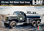 IT0201 2½ ton 6x6 Water Tank Truck GMC CCKW