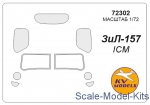 KVM72302 Mask for Zil-157 (ICM)