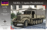 MACO7218 Sd.Kfz.7 (late Production) with tarpauline