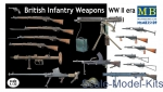MB35109 British infantry weapons, WWII era
